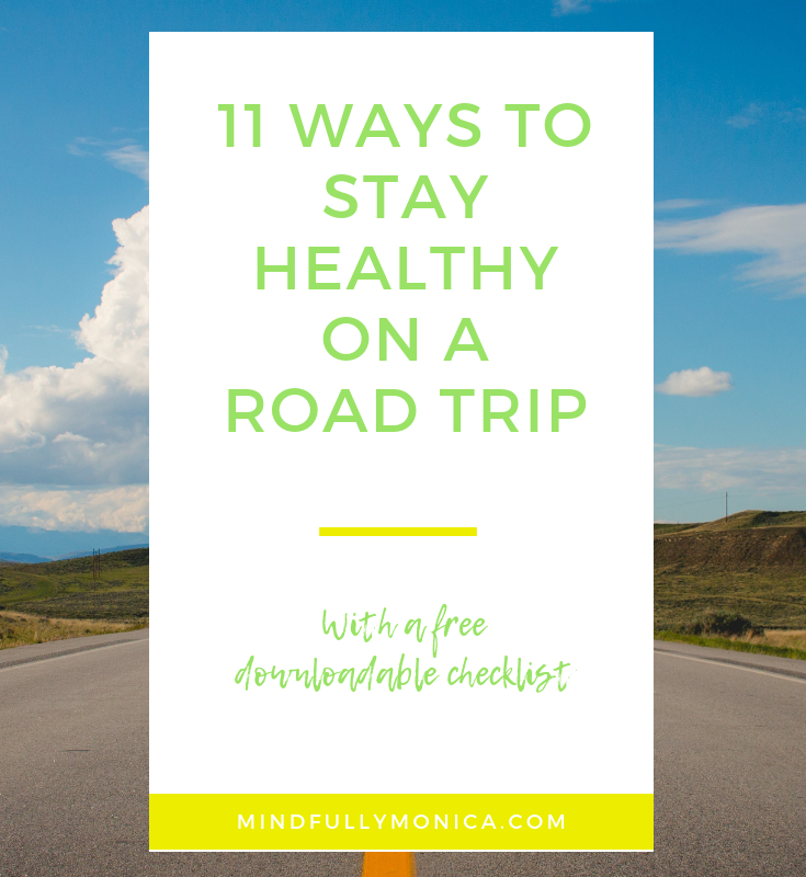 11 ways to stay healthy on a road trip