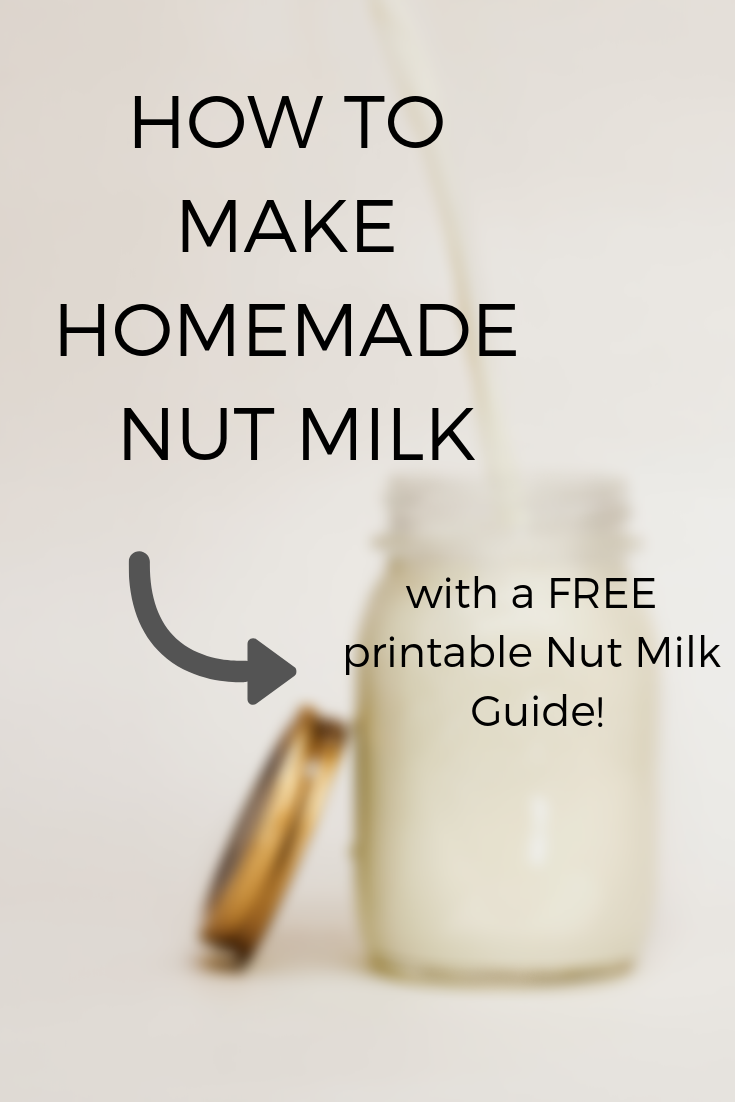 How to Make Plant Based Milk (and what do to do with the pulp!)