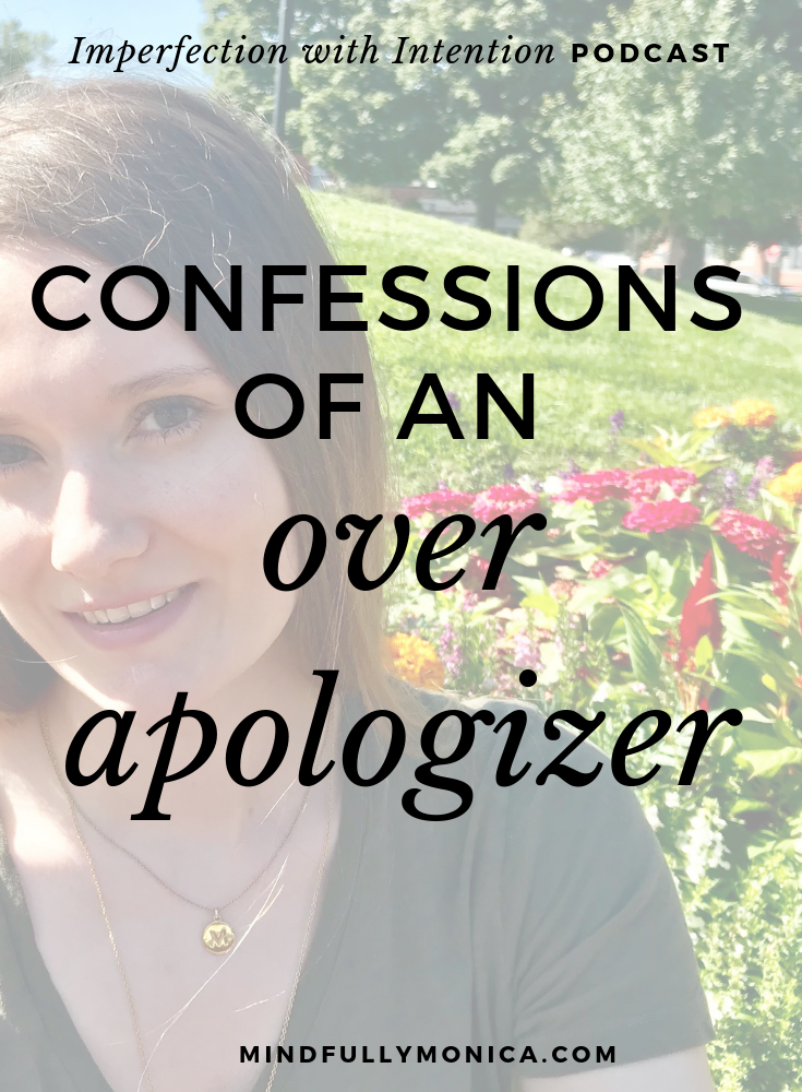 How to notice if you're apologizing when you shouldn't be and what to say instead of over apologizing.