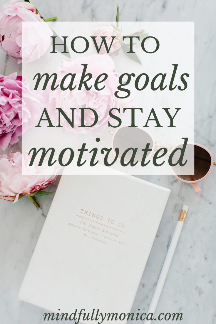 In this episode, learn my formula for making goals that you'll actually keep. Also, actionable steps to help you stay motivated. #inspirational #podcast #goalsetting