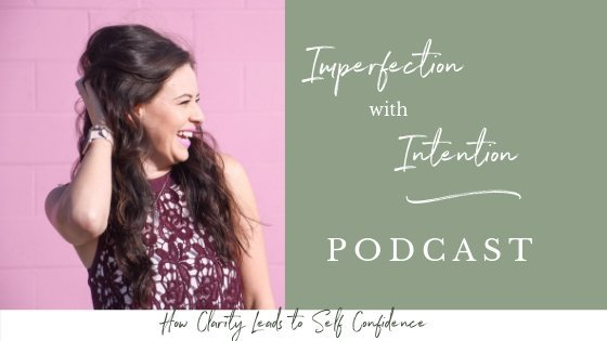 In this episode of Imperfection with Intention, I'm talking with confidence coach Carolina Vee about how to build self confidence and about the law of attraction. We'll cover self confidence quotes, self confidence tips, how to gain self confidence, self confidence affirmations, and inspiration to help you find your own. #findyourpurpose #confidencecoach #empower #personaldevelopment #confidence
