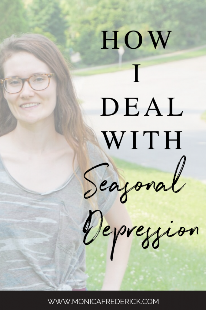 Summer's ending, and the with the first hint of chilly air, I remember my seasonal depression. In this episode of Imperfection with Intention, I'm chatting all about why my own seasonal depression looks like, how I deal with seasonal depression and how I get rid of the winter blues. Click through to read the detailed show notes or check it out on your favorite podcast app! | seasonal depression remedies | mental health | winter mental health | seasonal depression tips