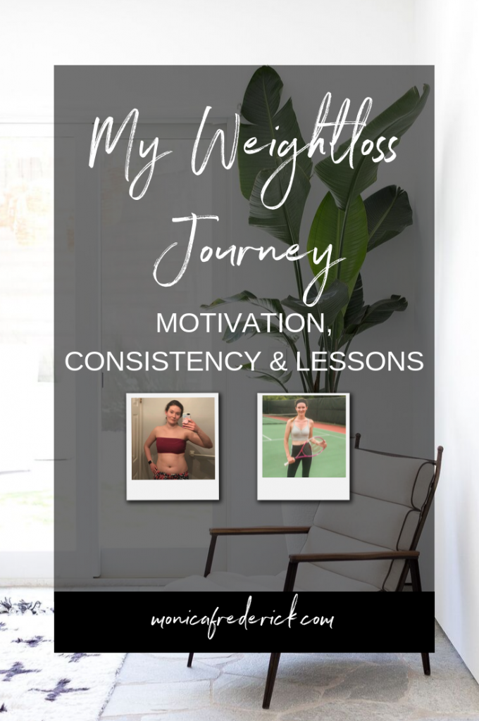 In this episode of the Imperfection with Intention podcast, I'm getting pretty personal. I'm sharing all about my weight loss journey today! Click through to see what got me started on my journey, how I stayed consistent with diet and exercise, and the lessons I've learned along the way. #weightloss #weightlossjourney #weightlosstips #wellnessjourney #wellness #fitness