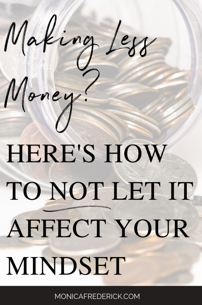 My money mindset was super negative when I quit my AWFUL job and I wanted to find a way to live happy with less money. And I have a few tips if you're in the same boat. Click the pic to read about how to improve your money mindset and how to be satisfied with less. #budgeting #lawofattraction #moneymindset #finances #bills