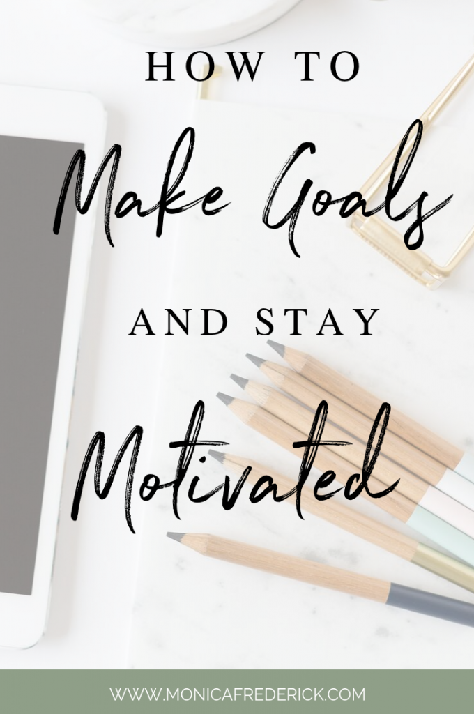 In this episode, learn my formula for making goals that you'll actually keep. Also, actionable steps to help you stay motivated. These are the tip to set goals and stay motivated. #inspirational #podcast #goalsetting