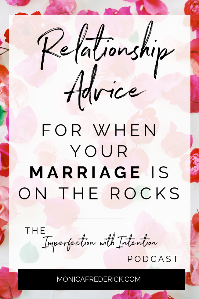 Is your marriage on the rocks or if your relationship is in trouble, then this episode is for you! Today on Imperfection with Intention, my guest is talking about what she did to heal her relationship, and how you can tell if it's time for a divorce or healing. #relationshipadvice #relationshiptips #relationship #datingadvice #datingtips #marriage #Marriageadvice