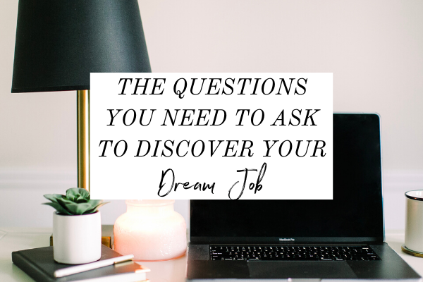 If you want to discover your dream job, then you've got to dig deep within yourself! In this episode of the Imperfection with Intention podcast, I'm talking about the 3 questions you NEED to ask yourself in order to discover your dream job. | dream job ideas | Dream job Inspiration | career goals | starting a business | what is my dream job | Dream job manifestation #career