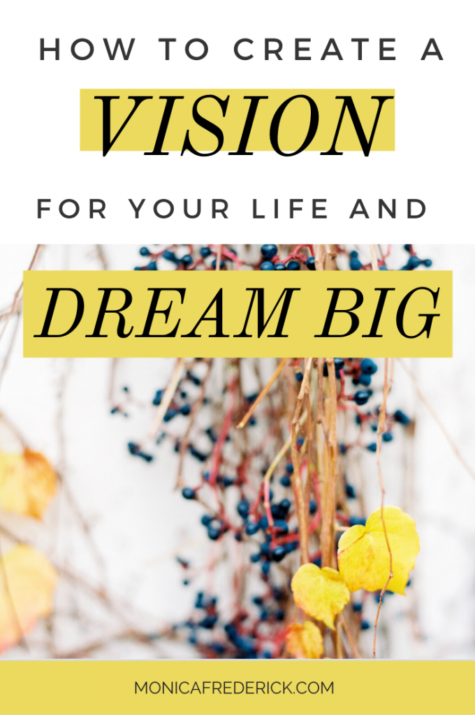 If you're tired of not having a clear direction on where to go with the rest of your life? You just need some clarity!  Click through to read my three steps for creating a compelling vision for your life and make sure to grab my FREE Life Vision checklist! #visionboard #personalvision #lifevision #motivation #inspiration