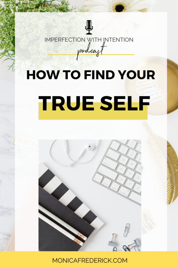In this episode of Imperfection with Intention you'll hear: Why getting real about being fake is key If you're too busy looking at other people, you can't find your true self How life ain't like the movies (but you already knew that!) and more! | true self | how to find your true self | how to find yourself | self discovery | self discovery tips | self discovery journal