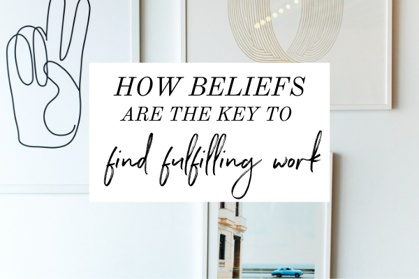 If you're trying to find fulfilling work and you feel like you keep trying and nothing's working, then there's a very important step you're missing. Having the belief. In this episode of Monica Chats, I'm talking about how to actually believe that you will find fulfilling work. | self discovery | find your passion | find your purpose | career advice | start your business