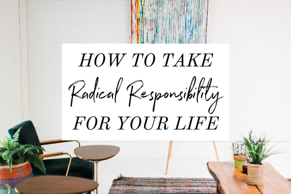 If you find yourself stuck in the victim mindset because of your circumstances and you want to ditch it, it's time to take Radical Responsibility.  If you're done being stuck, then this episode of Monica Chats will help.