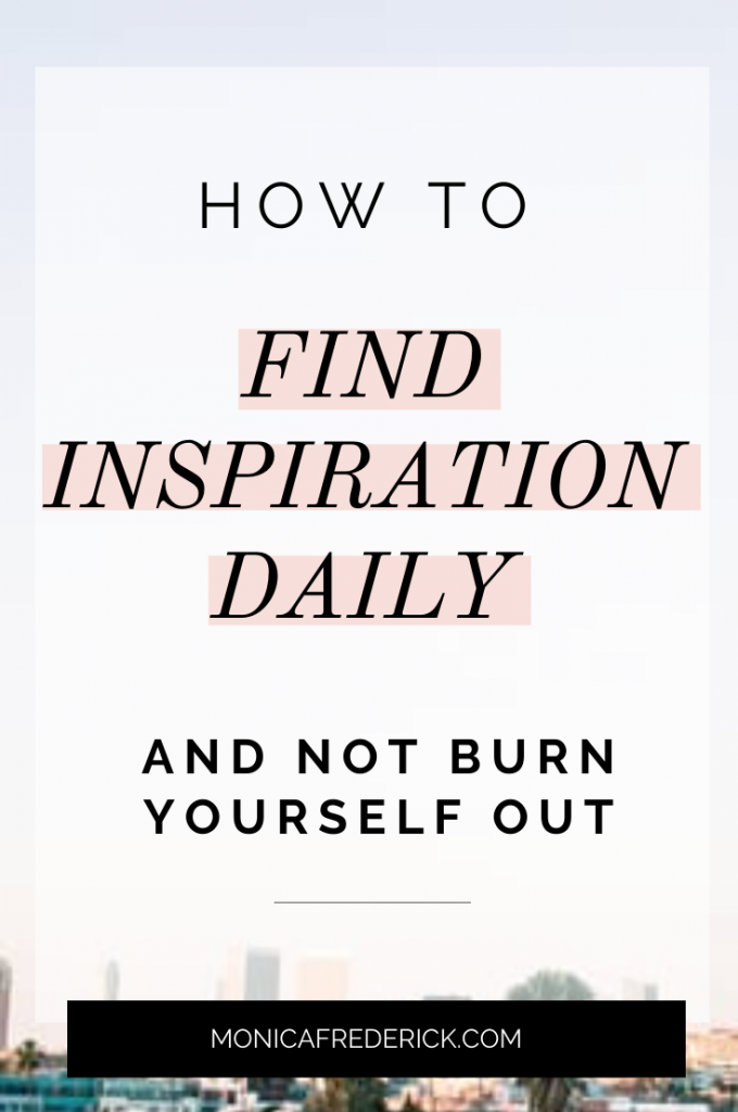 Has looking for inspiration or motivation ever felt like wandering the desert looking for water? Yup, it happens to all of us at one point or another. But I don't think it has to be like that.  In this episode you'll hear: -How to find inspiration daily. -What the inspiration desert is, and how to thrive in it instead of desperately trying to find motivation. -The one person you should ask for advice from FIRST before you turn anywhere else. -The three questions that will layout your step by step plan for your goals. Click through to read the blog or listen to the Monica Chats podcast episode. #inspirational #motivational #goalsetting #planning #podcastforwomen