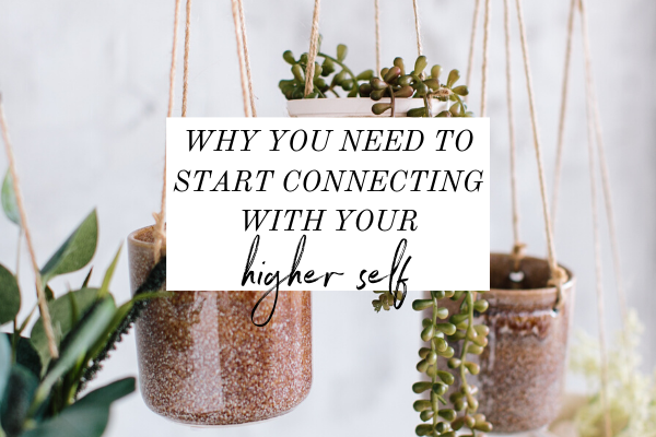 Have you ever felt lost? Connecting with your higher self is like the ultimate self-discovery. Click through to listen to the Monica Chats podcast. You'll stop feeling lost because you'll start connecting to your higher self. Then you can start to design your days instead of living by default. | intentional living | highest self | goals | dreams