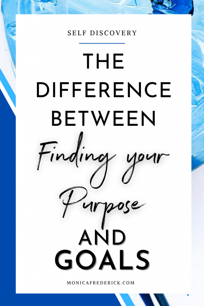 If you're been pressuring yourself to add more meaning to your life, but always worried about time, this episode is for you! You'll be relieved to know the difference between finding your life purpose and goals because it'll take the pressure off. Click through to read more about how to set up goals that will help you create a vision for your life.