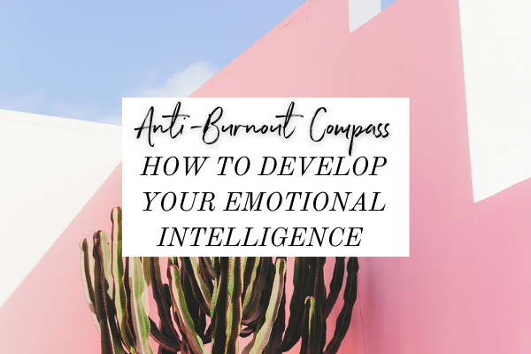 You have a natural compass that guides you to make actions that help you grow, and to keep you from burnout. We all have it, except, a lot of us ignore it or try to bury it with binging tv (I'm guilty of that!), drinking excessively, overeating or emotional shopping.   Today on the podcast, we're talking about how to develop your emotional intelligence, interpret your emotions (no matter if they're positive or negative) and use them to better tune into what you need.
